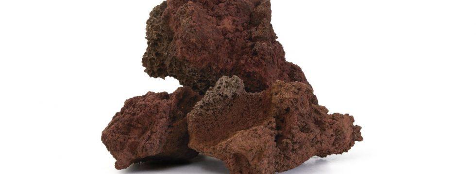 Lava rossa granulati zandobbio - Pietra sinterizzata ...