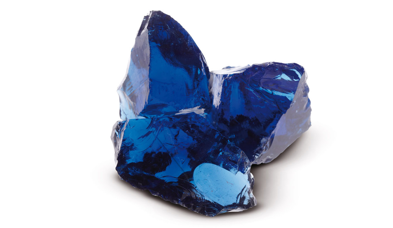 Granulati zandobbio vetro-blu