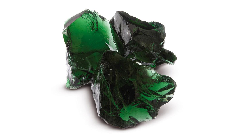 Granulati zandobbio vetro-verde