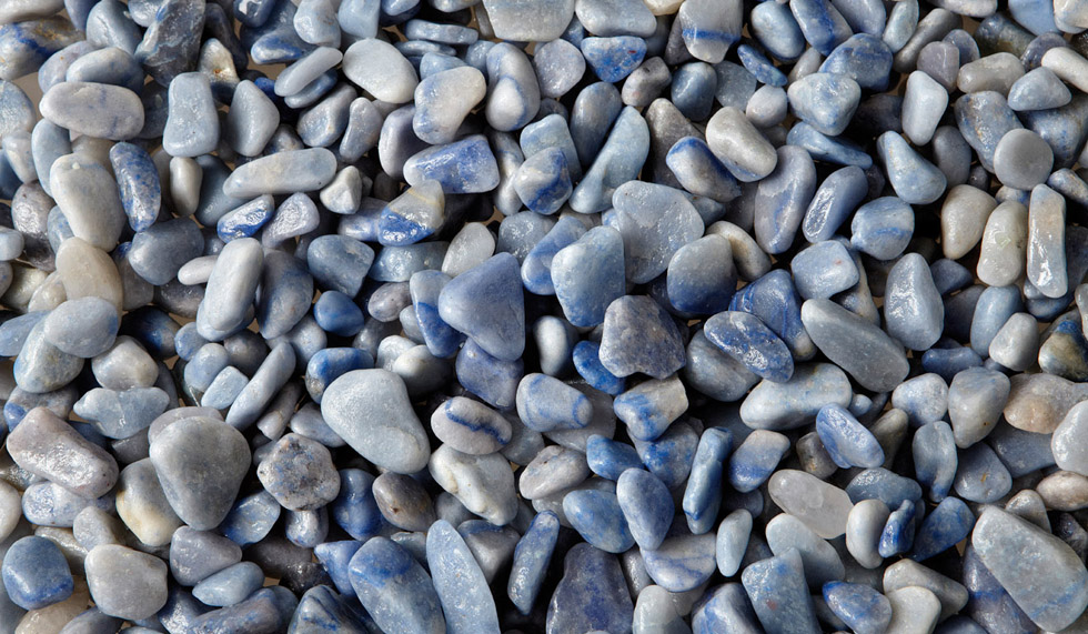 Vetro semipreziosi quarzo azzurro