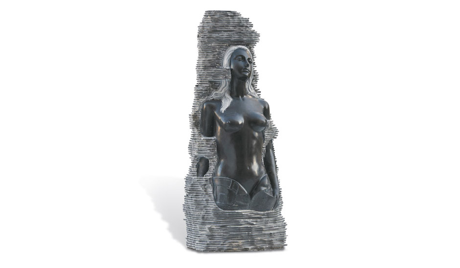 AMAZZONE Statua 5 destra