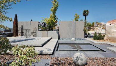giardino allestito Granulati zandobbio