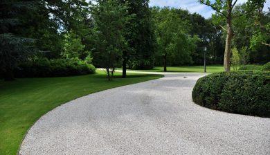 giardino con viale Granulati zandobbio