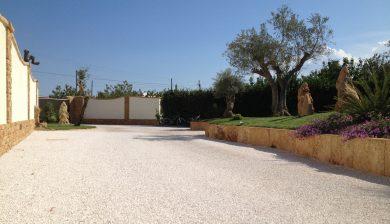 giardino esterno Granulati zandobbio