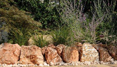 giardino Granulati zandobbio rocce