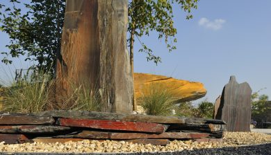 giardino pietre Granulati zandobbio