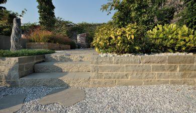 giardino scalini Granulati zandobbio