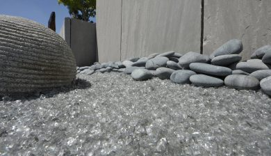 giardino vetro Granulati zandobbio