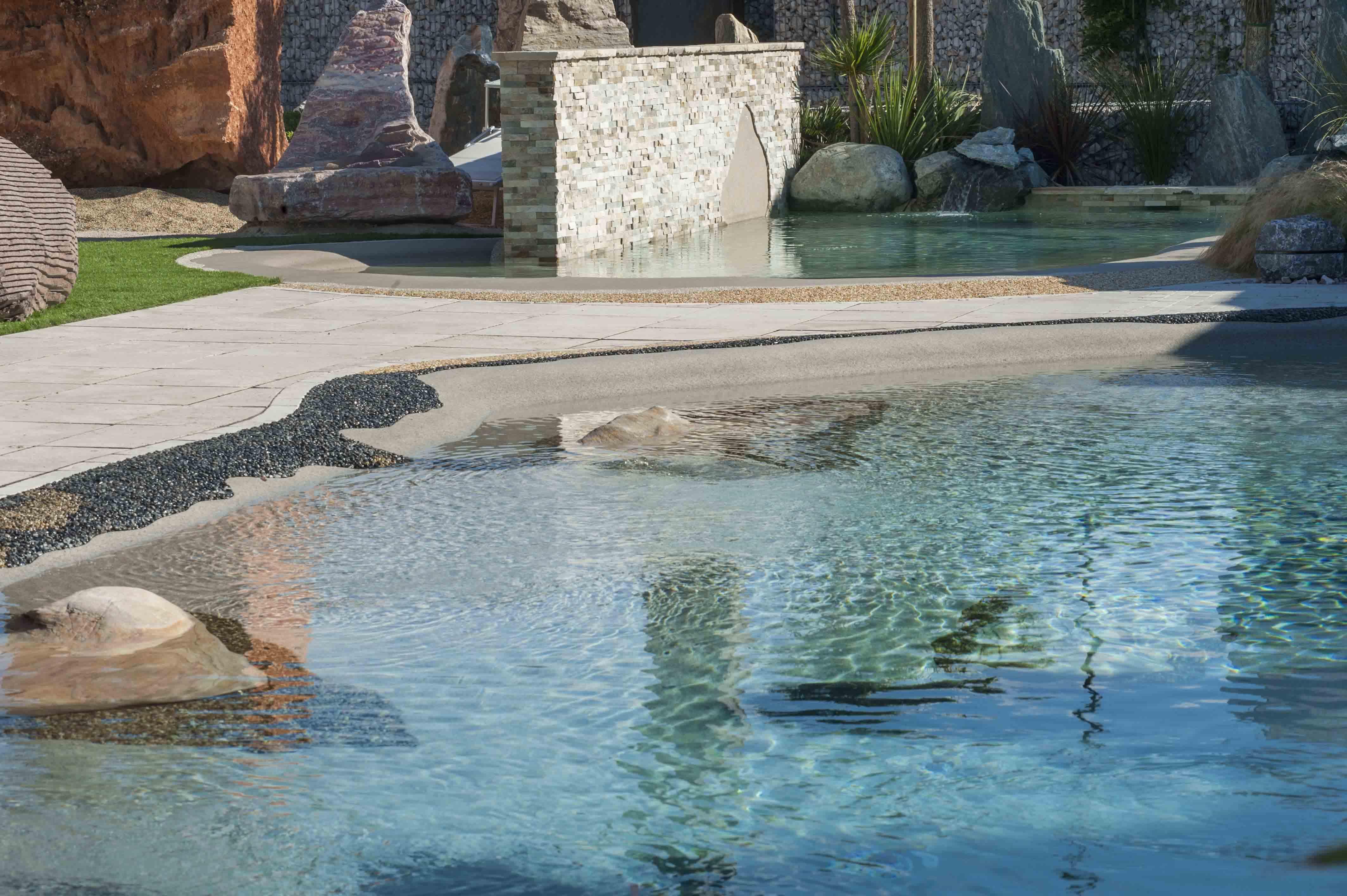 L altra pietra arreda la vostra piscina granulati zandobbio