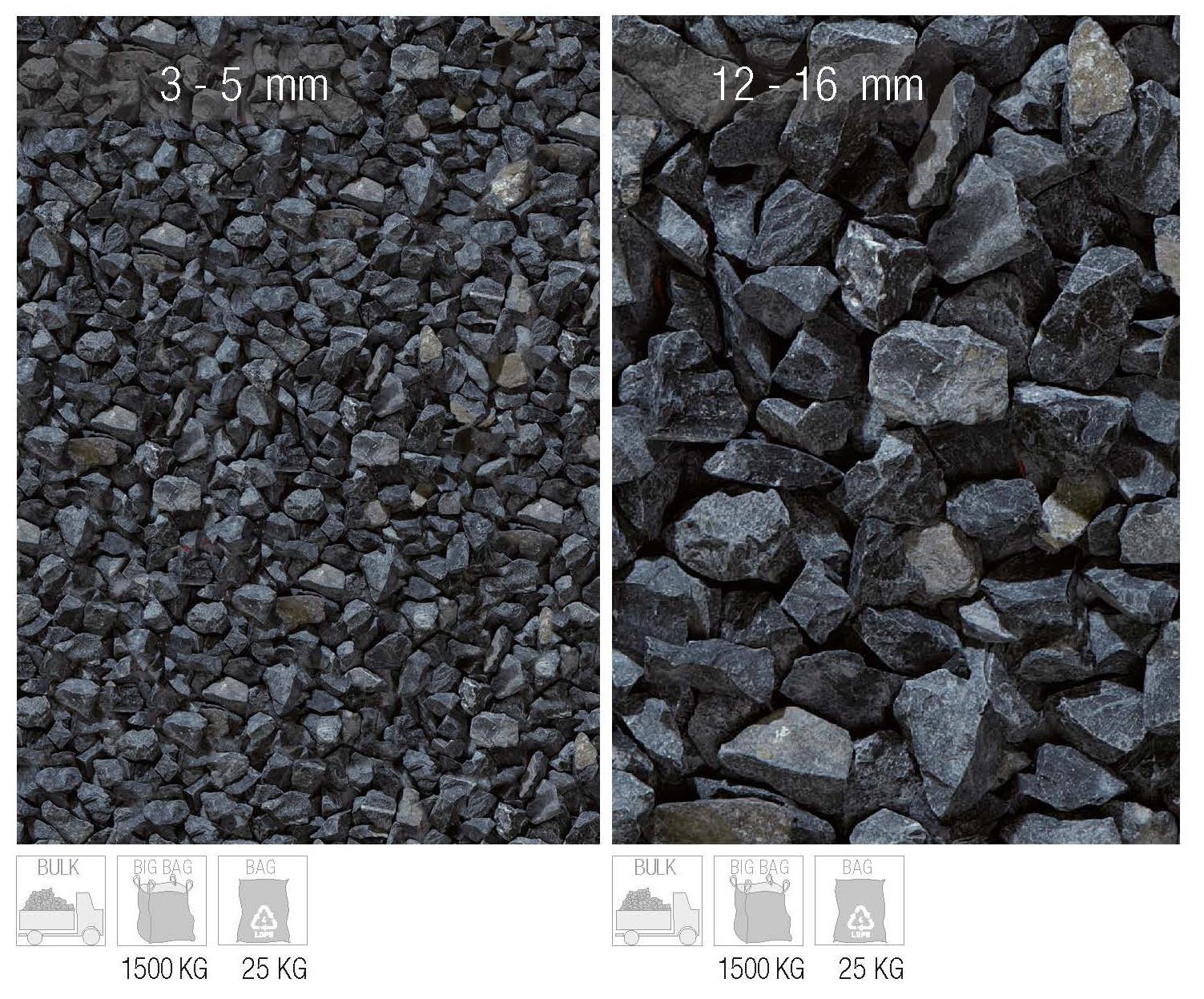granulati basalto nero