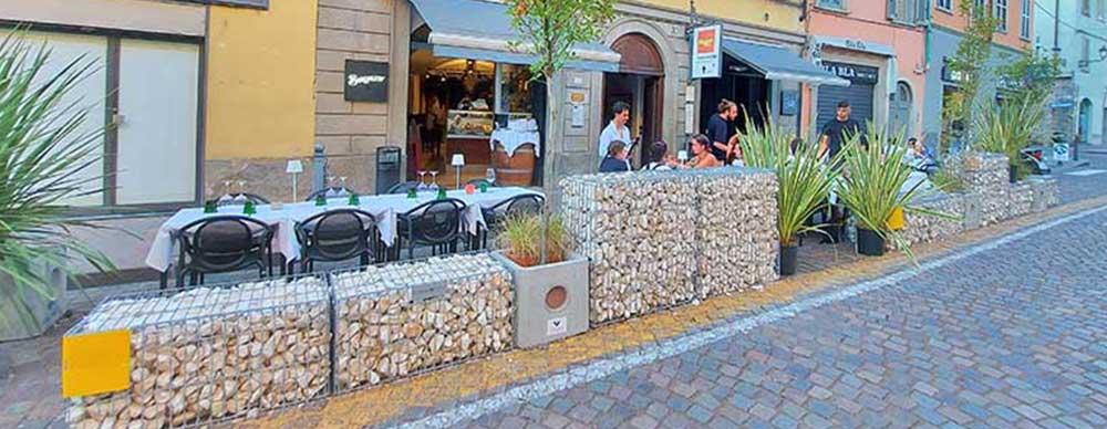 Pareti divisorie, Bergamo