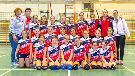 Granulati Zandobbio for Scanzorosciate Volleyball