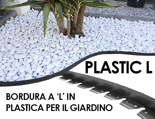 bordura in plastica L